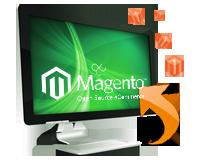 Magento data entry